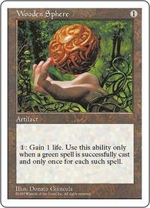 Magic the Gathering Fifth Edition Single Card Uncommon Wooden Sphere