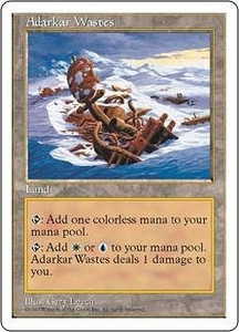 Magic the Gathering Fifth Edition Single Card Rare Adarkar Wastes