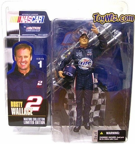 McFarlane Toys NASCAR Series 1 Action Figure Rusty Wallace BLOWOUT SALE!
