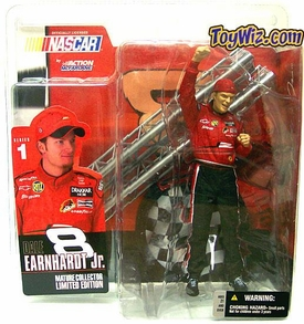 WcFarlane Toys NASCAR Series 1 Action Figure Dale Earnhardt Jr. Without Shades Variant