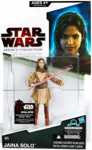 Star Wars 2009 Legacy Collection Build-A-Droid Action Figure BD No. 60 Jaina Solo