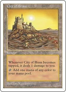 Magic the Gathering Fifth Edition Single Card Rare City of Brass