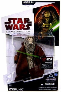 Star Wars 2009 Legacy Collection Build-A-Droid Action Figure BD No. 57 K'Kruhk