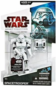 Star Wars 2009 Legacy Collection Build-A-Droid Action Figure BD No. 58 Spacetrooper