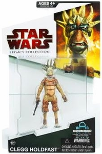 Star Wars 2009 Legacy Collection Build-A-Droid Action Figure BD No. 11 Clegg Holdfast [Pod Racer]