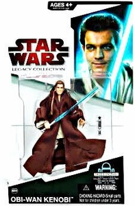 Star Wars 2009 Legacy Collection Build-A-Droid Action Figure BD No. 06 Obi-Wan Kenobi