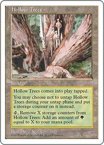 Magic the Gathering Fifth Edition Single Card Rare Hollow Trees