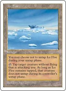 Magic the Gathering Fifth Edition Single Card Uncommon Ice Floe