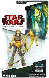 Star Wars 2009 Legacy Collection Build-A-Droid Action Figure BD No. 07 Gungan Warrior with Horn