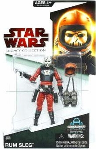 Star Wars 2009 Legacy Collection Build-A-Droid Action Figure BD No. 09 Rum Sleg