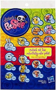 Littlest Pet Shop Colorfully Cute Pets Mystery Figure Pack Hot!