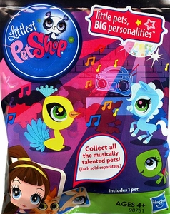 Littlest Pet Shop Musically Talented Pets Mystery Figure Pack