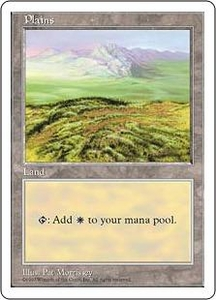Magic the Gathering Fifth Edition Single Card Land Plains [Random Artwork]