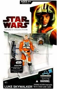 Star Wars 2009 Legacy Collection Build-A-Droid Action Figure BD No. 51 Luke in Snowspeeder Outfit