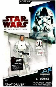 Star Wars 2009 Legacy Collection Build-A-Droid Action Figure BD No. 49 AT-AT Driver [Random Helmet Position]