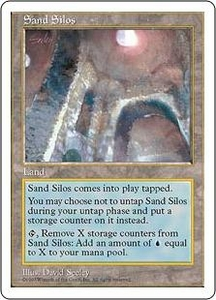 Magic the Gathering Fifth Edition Single Card Rare Sand Silos