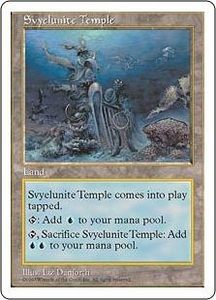 Magic the Gathering Fifth Edition Single Card Uncommon Svyelunite Temple