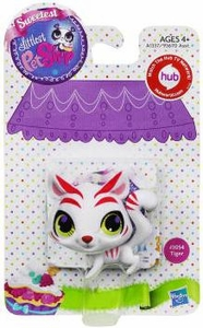 Littlest Pet Shop Sweetest Pet Single Figure #3054 White Tiger