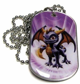 Topps Skylanders Giants LOOSE Dog Tag Spyro [1 of 44]