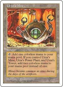 Magic the Gathering Fifth Edition Single Card Common Urza's Mine