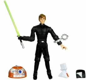 Star Wars 2009 Legacy Collection Build-A-Droid Action Figure BD No. 16 Luke Skywalker [Jedi Knight]