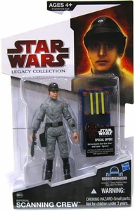 Star Wars 2009 Legacy Collection Build-A-Droid Action Figure BD No. 32 Imperial Scanning Crew Technician