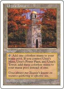 Magic the Gathering Fifth Edition Single Card Common Urza's Tower
