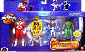 Power Rangers Operation Overdrive Exclusive Generations Figure 4-Pack Set 3 with Green Ranger