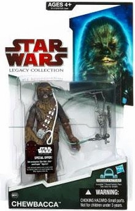 Star Wars 2009 Legacy Collection Build-A-Droid Action Figure BD No. 31 Chewbacca with Headset