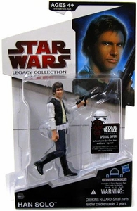 Star Wars 2009 Legacy Collection Build-A-Droid Action Figure BD No. 30 Han Solo with Stormtrooper Armor Parts
