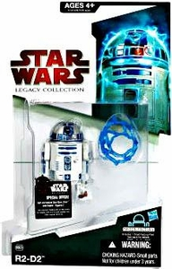 Star Wars 2009 Legacy Collection Build-A-Droid Action Figure BD No. 29 R2-D2 [Restraining Bolt & Jawa Stun Net]