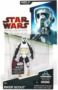Star Wars 2009 Legacy Collection Build-A-Droid Action Figure BD No. 12 Biker Scout
