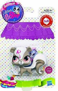 Littlest Pet Shop Sweetest Pet Single Figure #3059 Pepper Clark Skunk