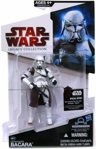 Star Wars 2009 Legacy Collection Build-A-Droid Action Figure BD No. 47 Commander Bacara