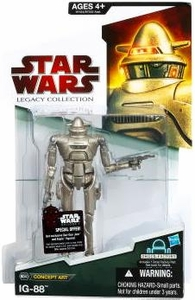 Star Wars 2009 Legacy Collection Build-A-Droid Action Figure BD No. 40 Concept Art Series IG-88