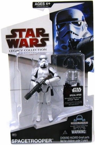 Star Wars 2009 Legacy Collection Build-A-Droid Action Figure BD No. 03 Space Trooper