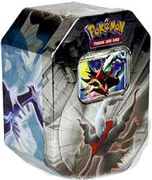 Pokemon Platinum Legendary Collection 2009 Collector Tin Set Darkrai with Darkrai LV.X Card