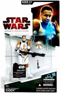 Star Wars 2009 Legacy Collection Build-A-Droid Action Figure BD No. 44 Clone Commander Cody