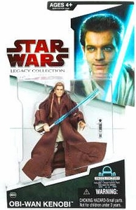 Star Wars 2009 Legacy Collection Build-A-Droid Action Figure BD No. 06 Episode I Obi-Wan Kenobi [Evolution]
