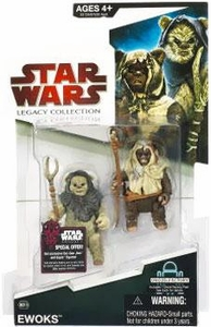Star Wars 2009 Legacy Collection Build-A-Droid Action Figure BD No. 18 Ewoks