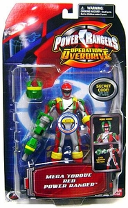 Power Rangers Operation Overdrive Action Figure Mega Torque Red Power Ranger
