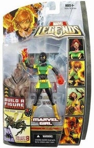 Marvel Legends Series 18 (Hasbro Series 3) VARIANT Action Figure Marvel Girl [Rachel Grey] [Brood Queen Build-A-Figure]