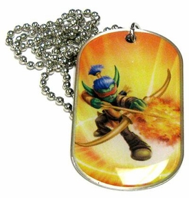 Topps Skylanders Giants LOOSE Dog Tag Flameslinger [14 of 44]