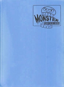 Monster Protectors Card Supplies 9-Pocket Matte Sky Blue Binder