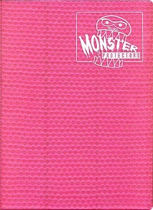 Monster Protectors Card Supplies 9-Pocket Pink Binder