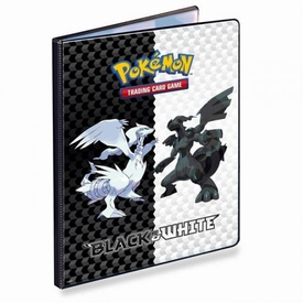 Pokemon Black & White Card Supplies 9-Pocket Binder Reshiram & Zekrom