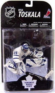 McFarlane Toys NHL Sports Picks Series 20 Action Figure Vesa Toskala (Toronto Maple Leafs)