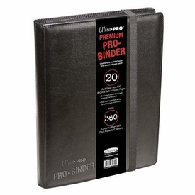 Ultra Pro Card Supplies 9-Pocket PREMIUM PRO-Binder Black