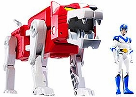 Mattel Voltron Club Lion Force Exclusive Action Figure Red Lion & Lance [Packaged Together in White Collector Box!]