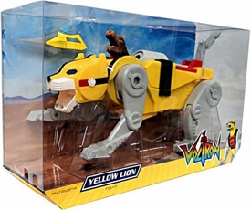 Mattel Voltron Club Lion Force Exclusive Action Figure Yellow Lion